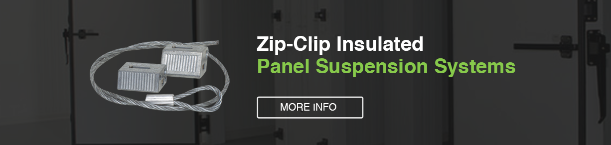 Zip-Clip Insulated Panel Suspension Systems